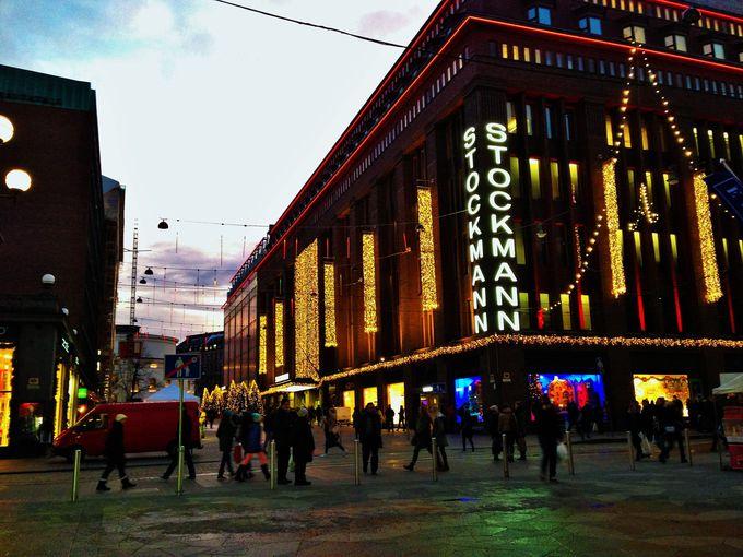 ヘルシンキ唯一のデパート・ストックマンで賢くお買い物!