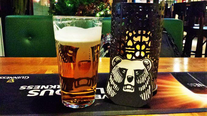 フィンランドではお馴染みの熊のマークが目印!「KARHU」ビール