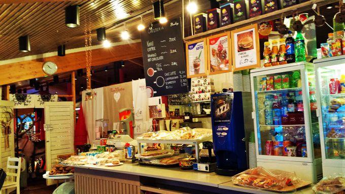 想像通りの可愛さ!サンタクロース村の北欧デザインカフェ
