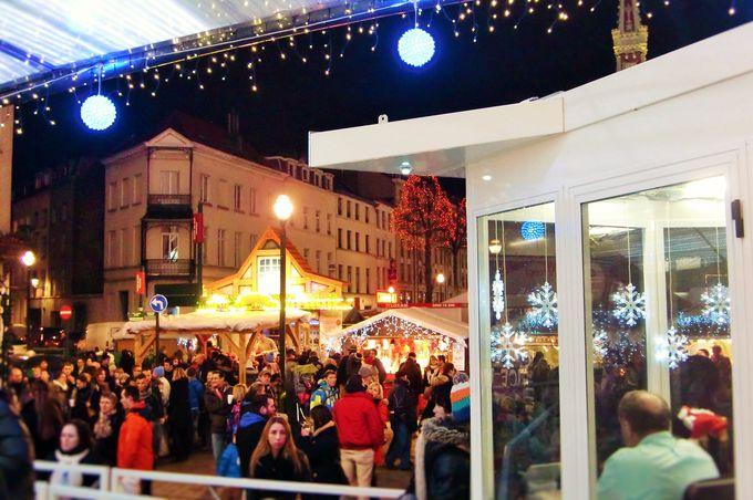 食べて飲んで遊ぶ!聖カトリーヌ広場のビッグなクリスマスマーケット!