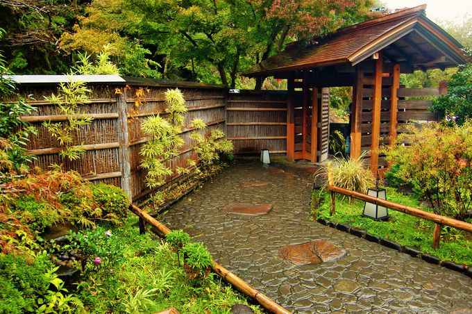 日本らしい情緒豊かなしつらえも魅力的
