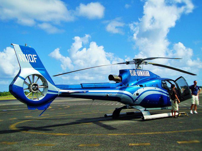一番人気のヘリコプターツアー!ワイコロア発「ビッグアイランド・スペキュタクラー」
