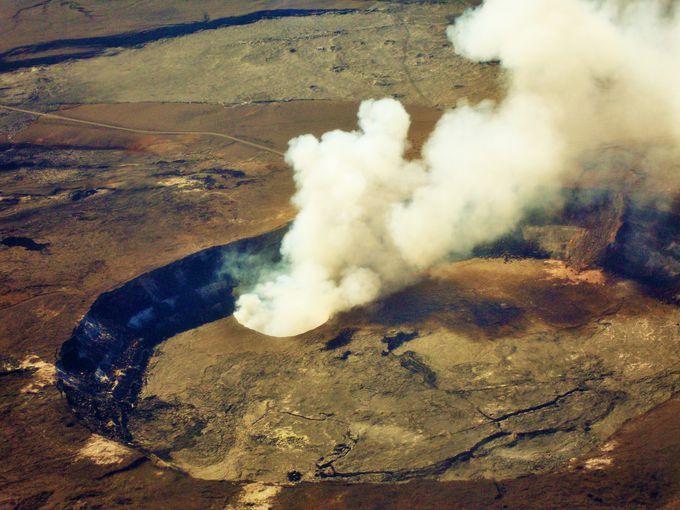 ハワイ島の巨大シンボル!世界遺産キラウエア火山