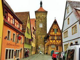 メルヘンな絵本の世界へ!中世の面影を残す独ローテンブルク