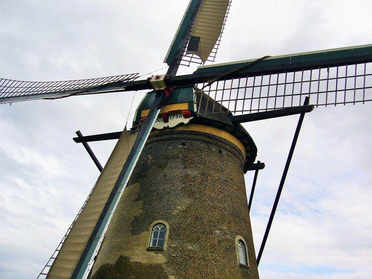 1.キンデルダイクの風車