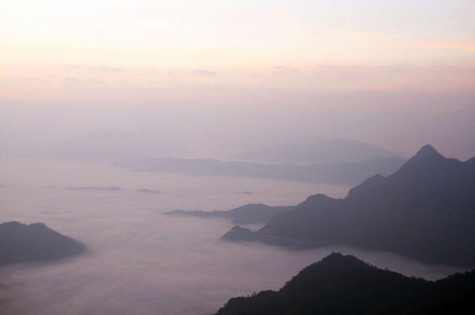 美しい雲海が広がる「プーチーファー」