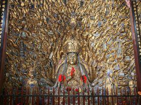 本当に1000本の手がある千手観音も!中国・世界遺産「大足石刻」