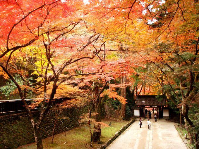 飯盛山への入り口は香積寺
