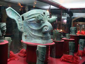 一度見たら忘れない!びっくり仮面の中国四川省「三星堆博物館」