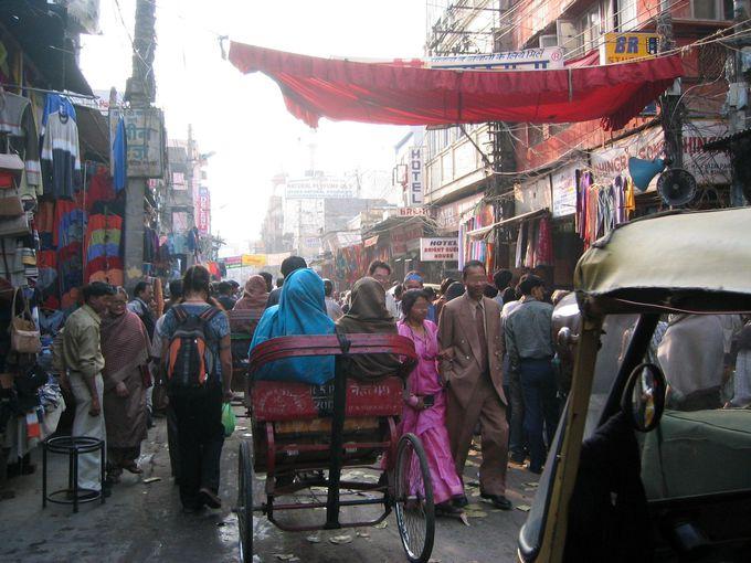 インド旅の玄関口・首都デリーは歴史ある魅力的な街