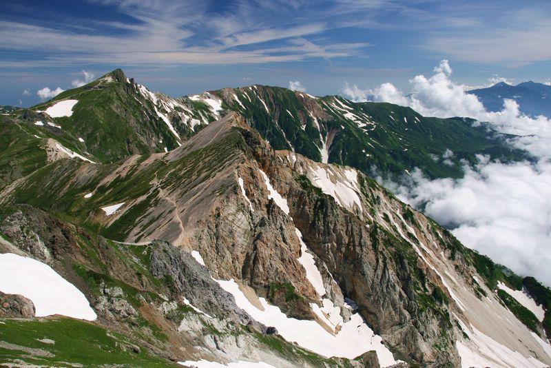 雲海に温泉、大雪渓まで!大自然が満喫できる白馬周遊登山