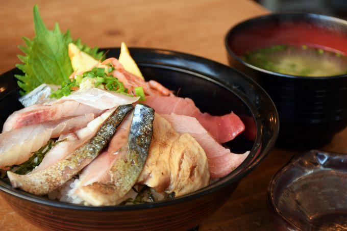 毎日でも食べたい!限定「店主おまかせ海鮮丼」