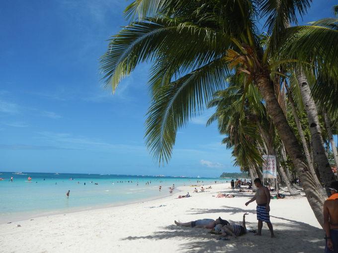 まずはビーチ!アジア屈指のビーチを楽しむ