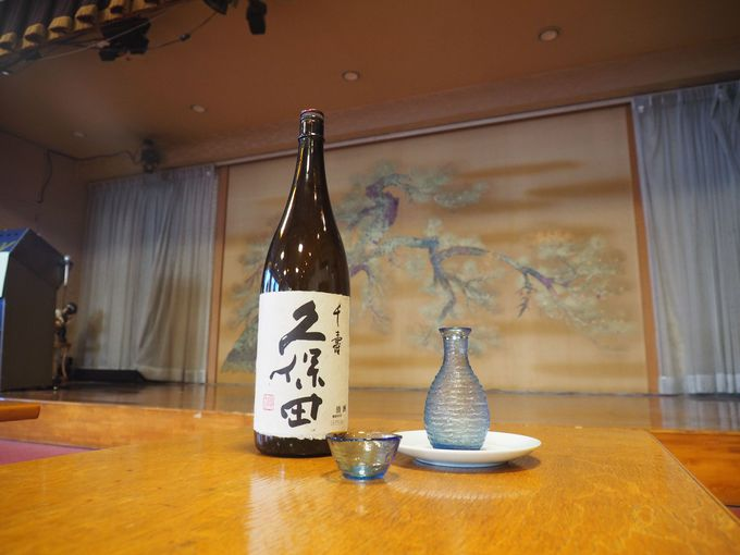 銭湯ではありえない日本酒の品ぞろえ