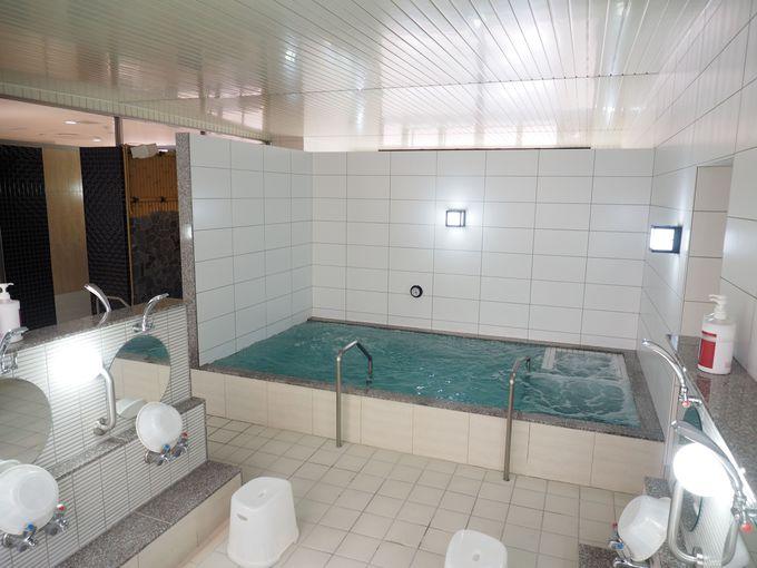スッキリ清潔。銭湯の基本を大事にした浴室