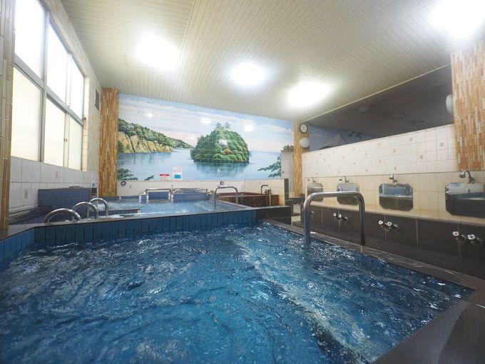 一番の絶景はサウナ後の水風呂にあり