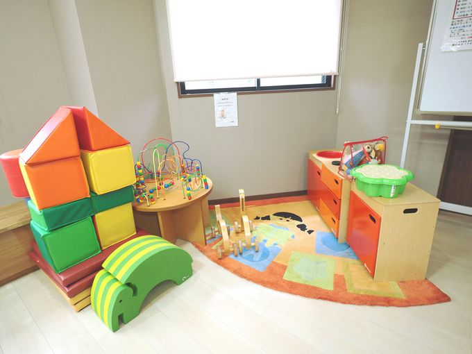 子供も大人もくつろげる2階の休憩所