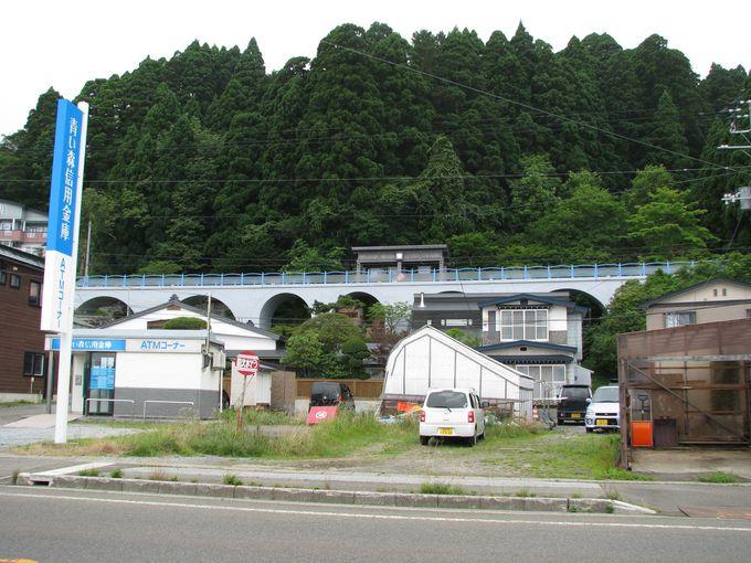 鉄道遺構を観光資源として再利用。