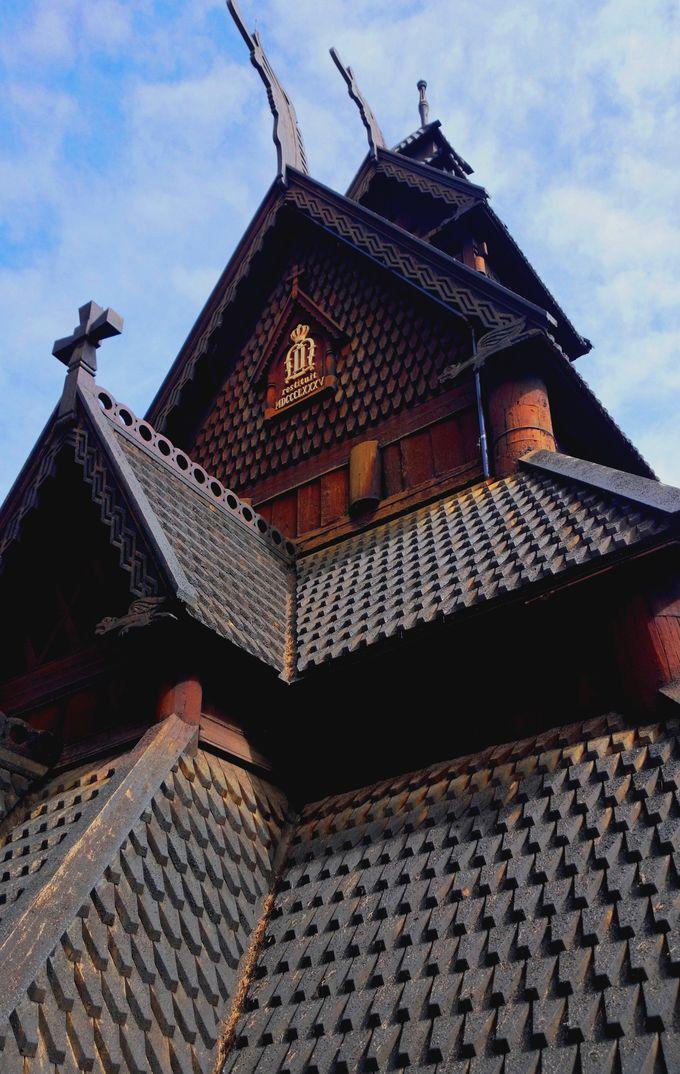 博物館のシンボル、スターヴ教会