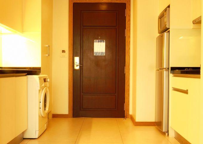 短期にも長期にも便利な、キッチン付き客室
