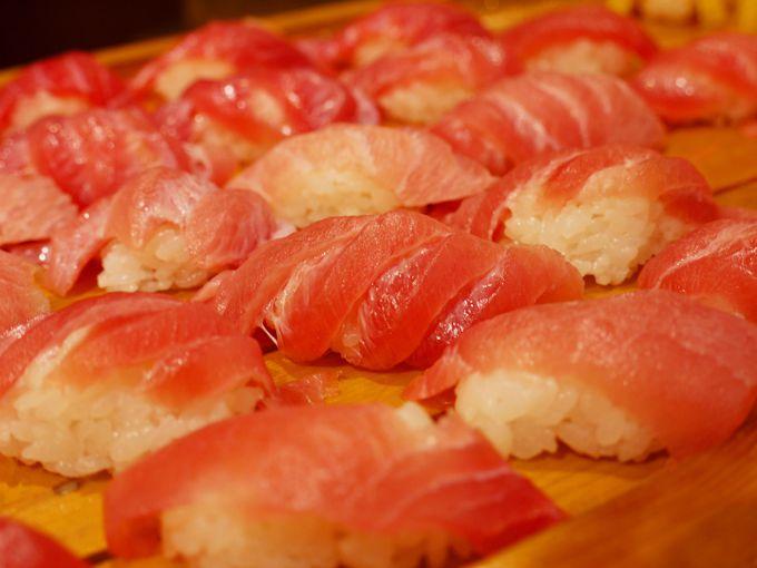 海の幸満載の「静岡おいしいものバイキング」。名物静岡おでんも食べ放題!