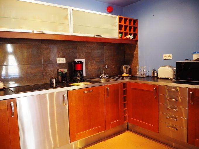 キッチン完備のアパートメントホテルだから、暮らすように滞在できる