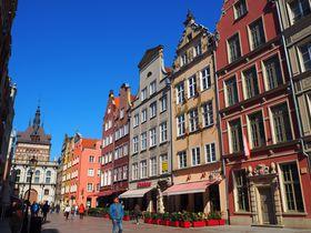 北ポーランド・グダニスクの「旧市街」は、まるで青空美術館!