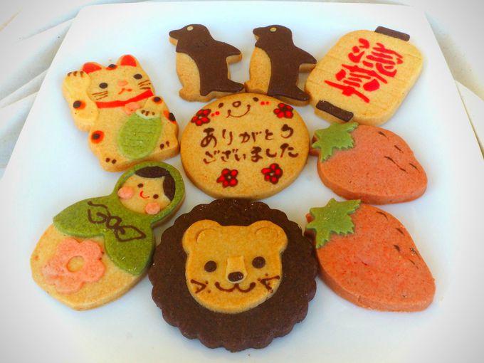 浅草発!かわいさ100点満点の手作りクッキー