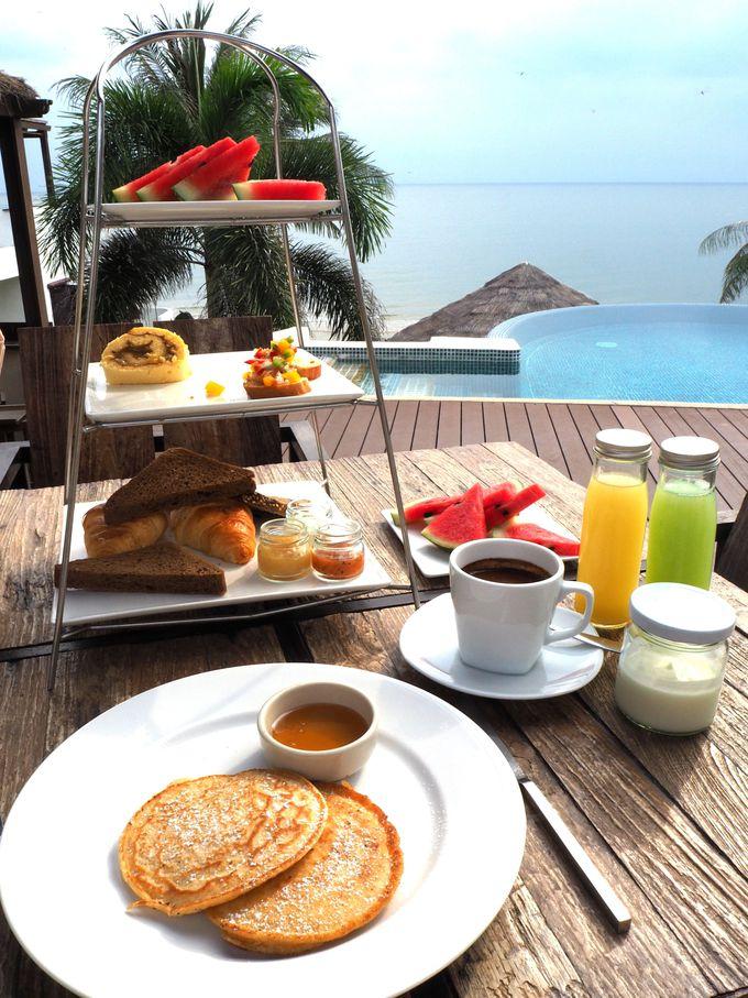 アラカルトならではの優雅な朝食タイム