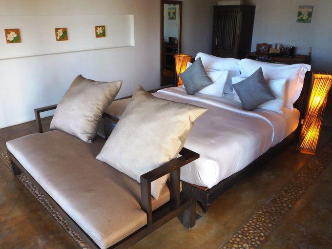 開放的なオーシャンフロント客室「パームプール レジデンス」