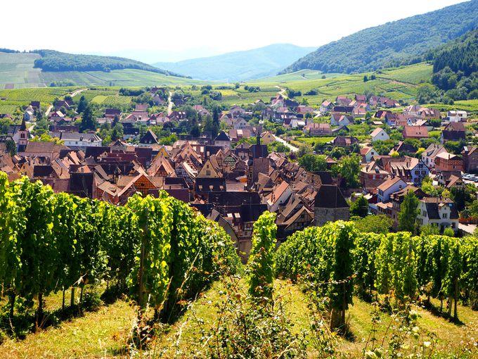 一番人気の村、リクヴィル