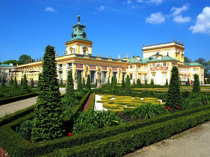 王様の夏の離宮が、そのまま博物館に。