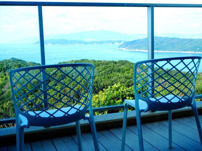 紀淡海峡を望む高台の宿「休暇村 紀州加太」