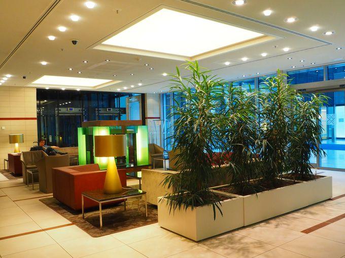 フランクフルト空港内にある、お手ごろなホテル「ヒルトン・ガーデン・イン」