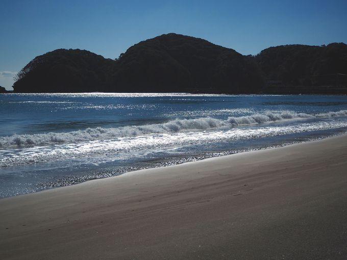 名勝・弓ヶ浜を散策しよう