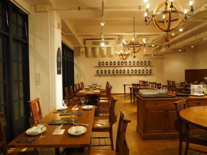 これが噂のイタリアン!レストラン「空と海の十字路」で至福の食時間