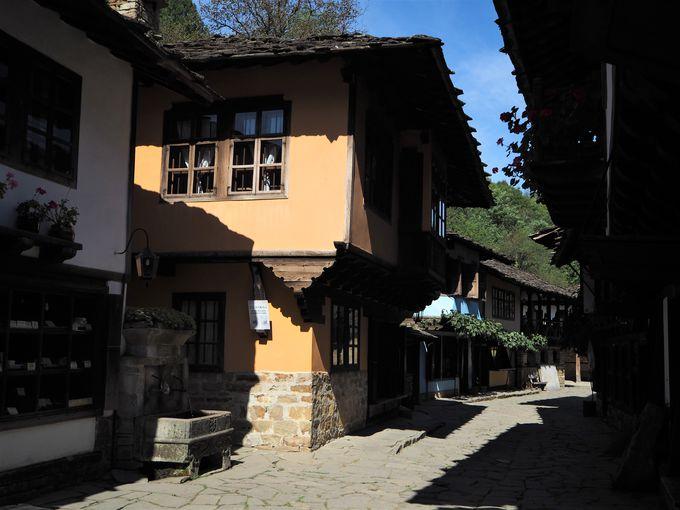 美しい伝統家屋も魅力