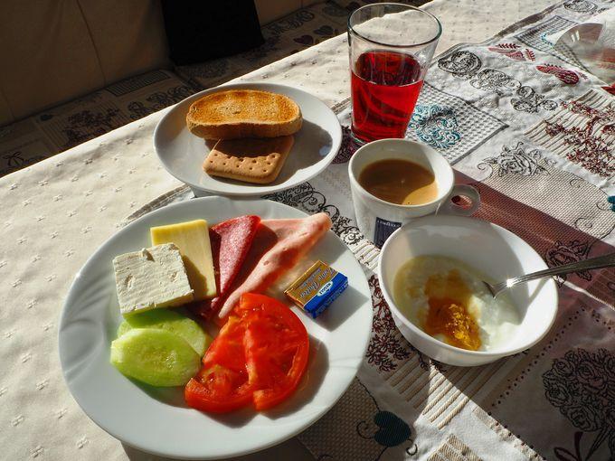 朝日が一番のごちそう!