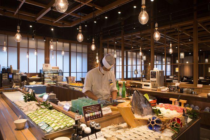 バイキングレストラン「青函市場」で海の幸を味わいつくす!