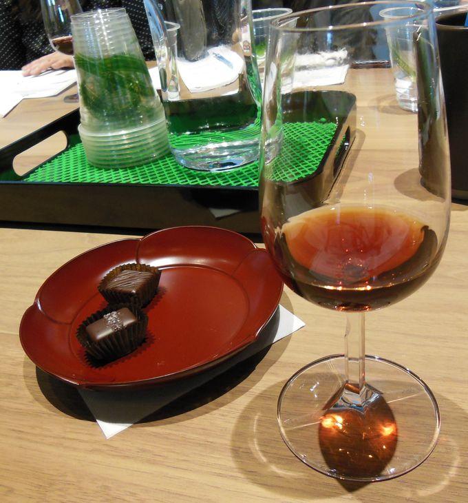 チョコレートとワインのペアリング