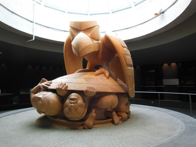 名門大学の博物館で、カナダ先住民の文化を学ぼう