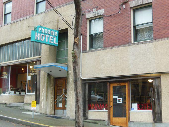 シアトルの国宝!かつての日本町の象徴、パナマホテル
