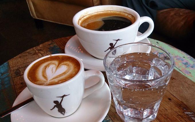 エスプレッソ系コーヒーが美味しい!