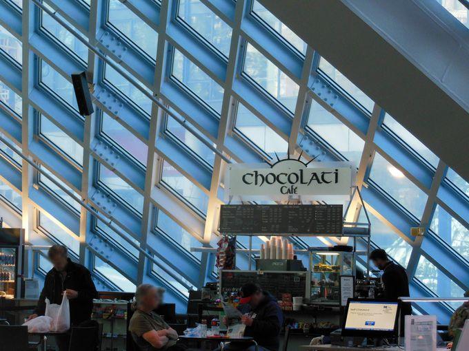 カフェのチョコレートが人気!