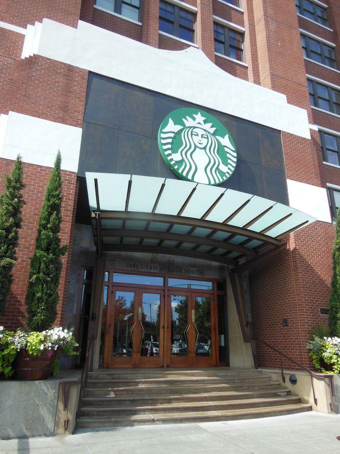 周辺にはステキなカフェやスタバ本社も!