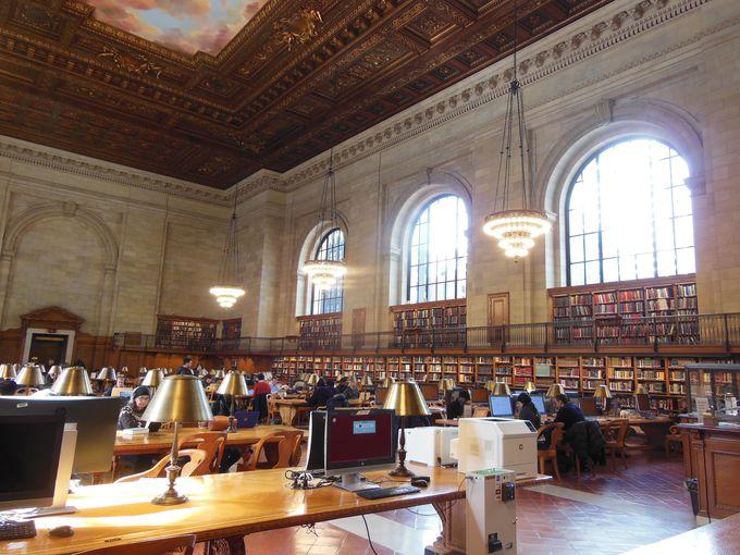 全米で最も美しいと評価された読書室も