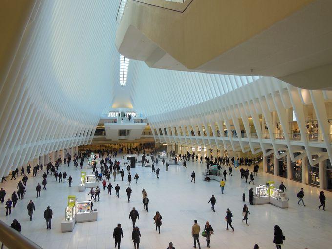 4日目午後:WTC(ワールドトレードセンター)駅
