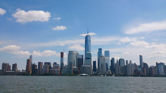 WTC駅から電車で4分、そこはニュージャージー州!