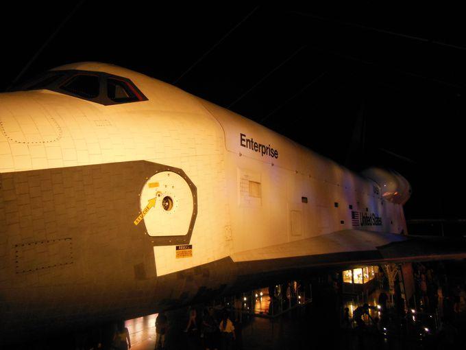スペースシャトルの展示も!宇宙とのコラボ