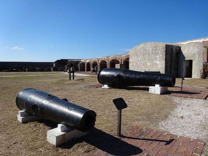 要塞の中には博物館も!